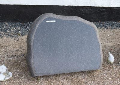 Himmerland Gravsten og Granit, sort svensk spejlsten