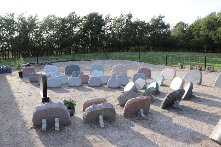 Himmerland Gravsten og Granit, udstilling