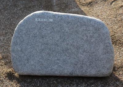 Himmerland Gravsten og Granit, urnesten Wiskon white natur