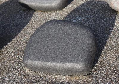 Himmerland Gravsten og Granit, urnesten sort svensk natur